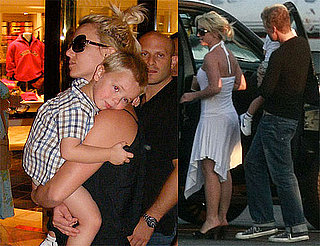 Photos of Britney Spears, Sean Preston Spears Federline, Jayden James Spears Federline in Las Vegas