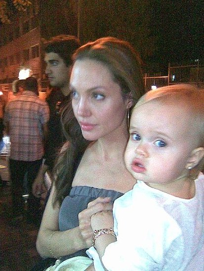 Photos of the Jolie-Pitt Twins
