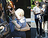 Photos of Ashlee Simpson And Bronx Wentz Leaving a LA Starbucks