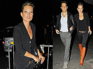 Photos of Kate Moss And Jamie Hince Heading Into a Florence And The Machine Concert