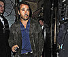 Slide Photo of Jeremy Piven Leaving Club in London