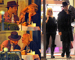 Photos of Ashley Olsen and Justin Bartha In Paris