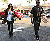 Slide Photo of Kim Kardashian and Reggie Bush Back Together in LA