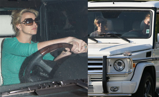 Photos of Britney Spears and Jason Trawick