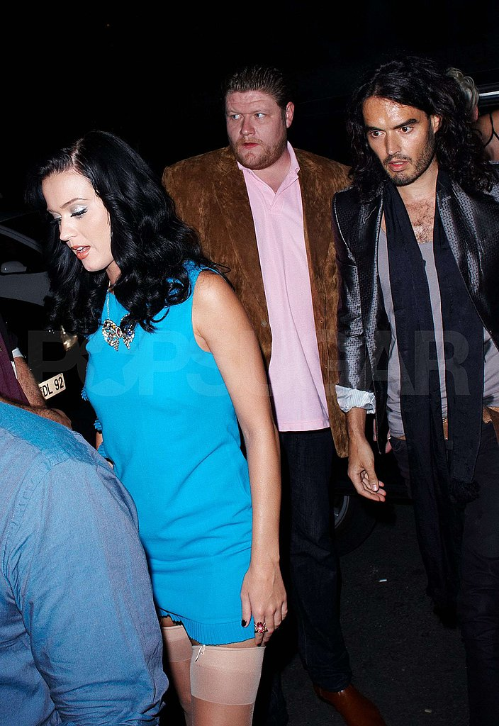 Photos of Katy Perry and Russell Brand