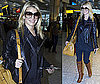 Photos of Jessica Simpson Arriving at Heathrow After Filming in Morocco