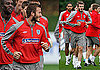 Photos of David Beckham Practicing Soccer in London 2009-10-07 11:30:57