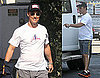 Photos of Matthew McConaughey Leaving His Office in LA