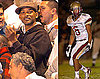 Photos of Will Smith Watching His Son&#039;s Football Game in LA