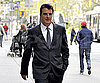 Slide Photo of Chris Noth on the SATC 2 Set