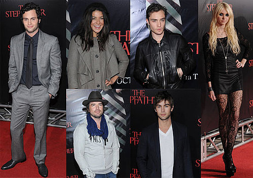 Photos of the Gossip Girl Cast At Penn Badgley's The Stepfather Premiere in NYC 2009-10-13 07:10:00