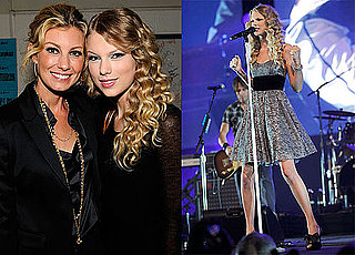 "Photos of Keith Urban, Faith Hill, And Taylor Swift at The ""We're All For The Hall"" Benefit Show"