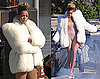 Photos of Rihanna in a Nude Bodysuit for a Photo Shoot in Germany