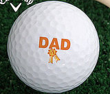 #1 Dad Golf Ball Set