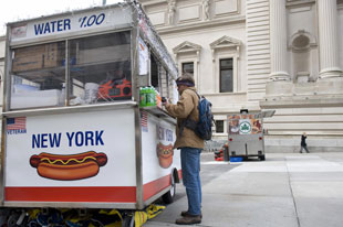 NYC Hot Dog Cart Monthly Rent: Guess How Much
