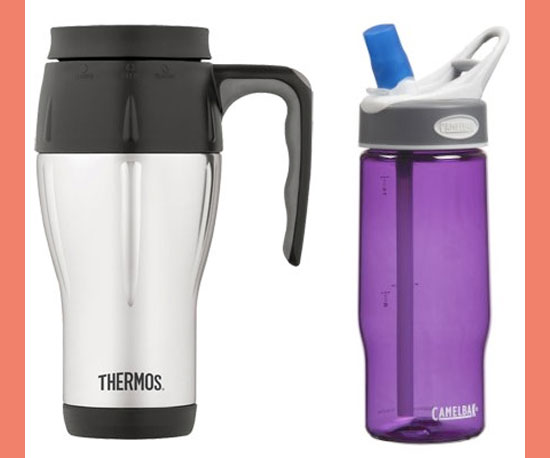 Reusable Mug and Water Bottle