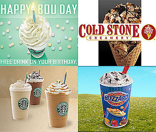 Where to Get Free Ice Cream and Coffee on Your Birthday