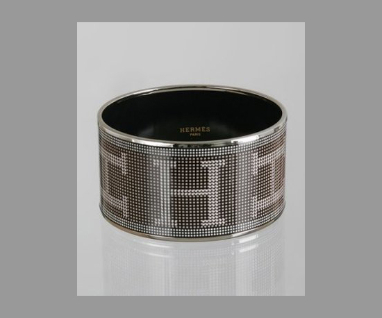 Hermès Pixelated Bangle