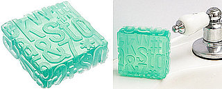 Typography Soap From Fred Flare