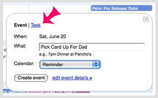 Using Tasks With Google Calendar
