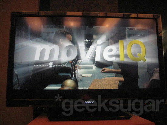 movieIQ and Sony Vaio NW
