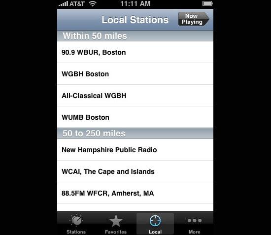 Public Radio Tuner (Free)