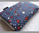 Red, White, and Blue Star iPod Case