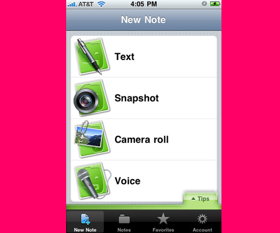 Explore Organizational Mediums With the Evernote App