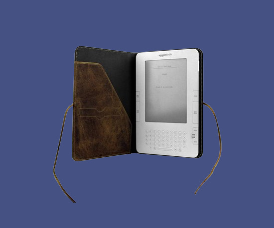 Kindle and Vintage Leather Case
