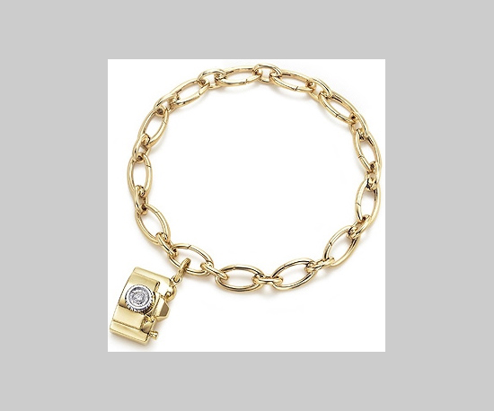 Tiffany Camera Charm Bracelet