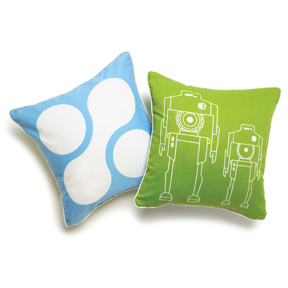 Robot Pillow Wants to Be Taken to Your Design Leader