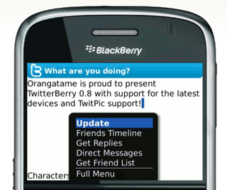 Get the Latest Version of TwitterBerry