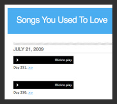 Listen to Your Old Favorite Tunes On Songs You Used to Love