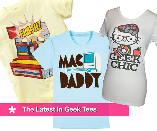 The Latest in Geek Tees!