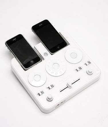 Test Your DJ Skills at Home with the iPod DJ Mixer