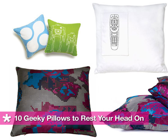 Rest Your Head on These 10 Geeky Pillows