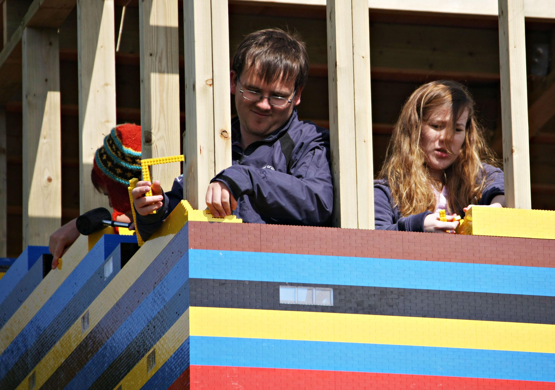 FNP BFO 0013144 Большой дом из LEGO. svoimi rukami inzhenernoe sooruzhenie doma