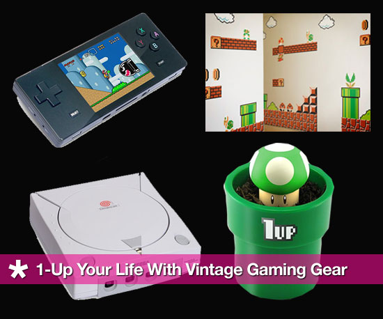 1-Up Your Life With Vintage Gaming Gear