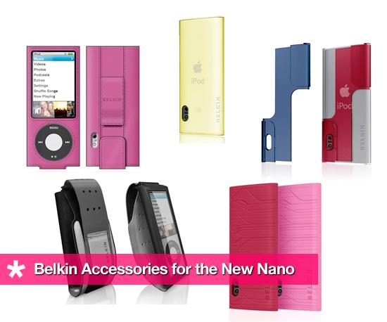 Belkin Accessories For the New Nano