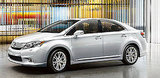 Photos of the Lexus HS Hybrid