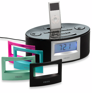 Homedics Alarm Clock Is iPod Friendly and Keeps You Calm