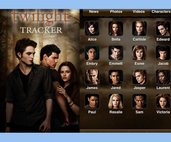 The New Twilight Tracker App