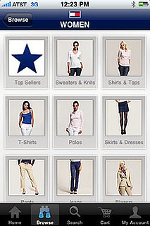 New Tommy Hilfiger Shopping App for iPhone