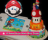 Delectable Super Mario Bros. Cakes and Cupcakes