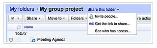 Google Documents Now Features Shareable Folders