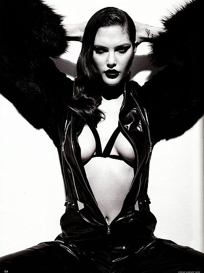 Girls on Film: Catherine McNeil, Vogue Germany, Aug. &#039;09