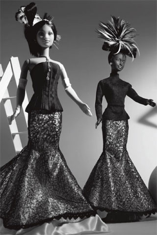 Barbie Takes Over Vogue Italia's Black Issue