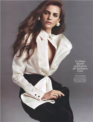 Girls on Film: Daria Werbowy, Vogue Paris, August '09