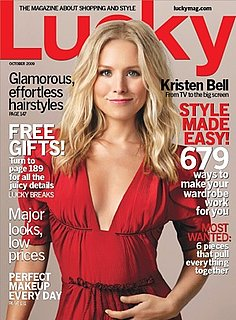 Win Kristen Bell's Lucky Cover Look!