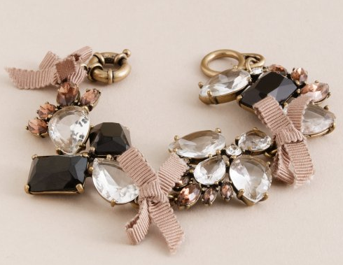 J.Crew Jeweled Garland Bracelet